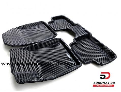3D коврики Euromat3D EVA в салон для Hyundai I30 (2019-) № EM3DEVA-002902