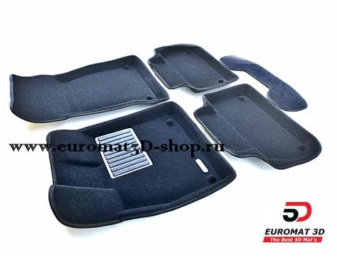 Текстильные 3D коврики Euromat3D Premium в салон для Audi Q5 (2017-) № EMPR3D-001101